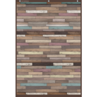 Reclaimed Wood Large Pocket Chart