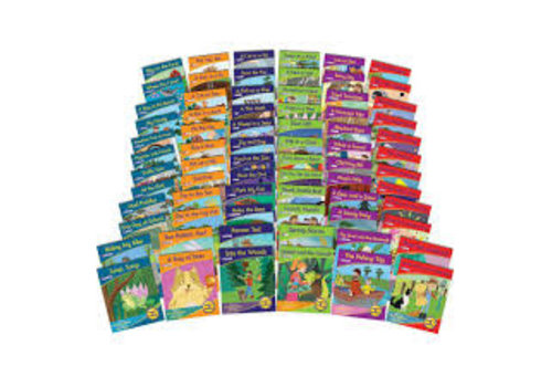 JUNIOR LEARNING Decodable Readers Library - Fiction