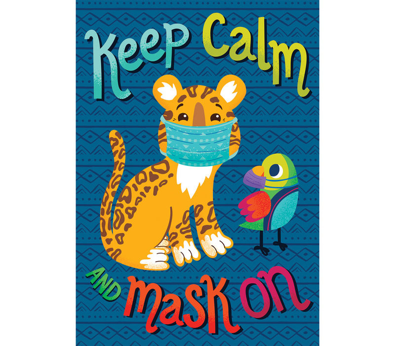 One World - Keep Calm Mask On
