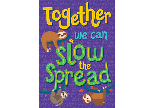 Carson Dellosa One World - Together We Can Slow the Spread