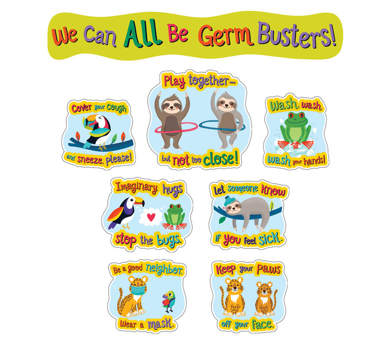 One World - We Can All Be Germ Busters Bulletin Board