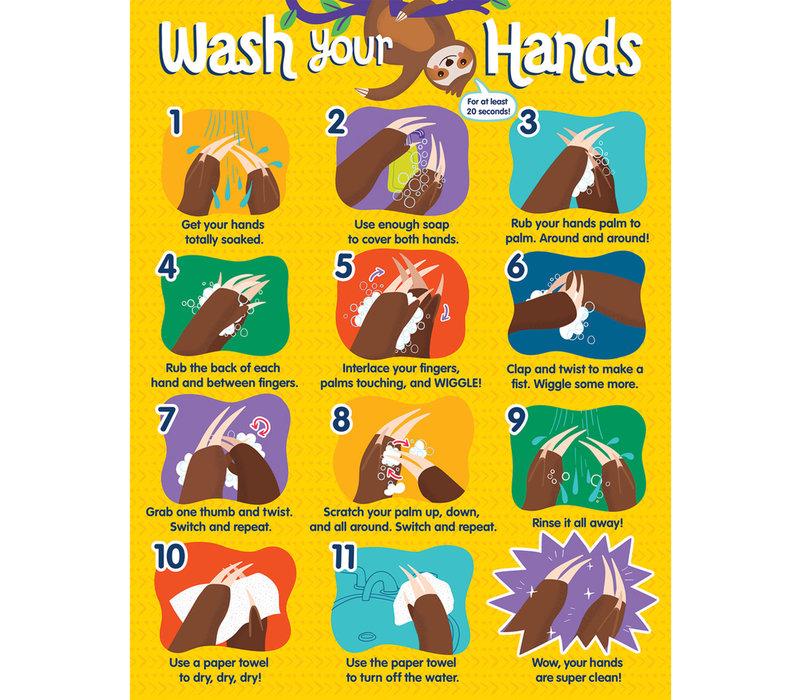 One World - Handwashing  poster