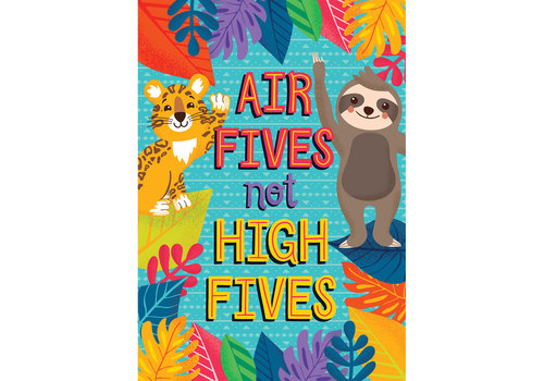 Carson Dellosa One World - Air Fives Not HIgh Fives poster
