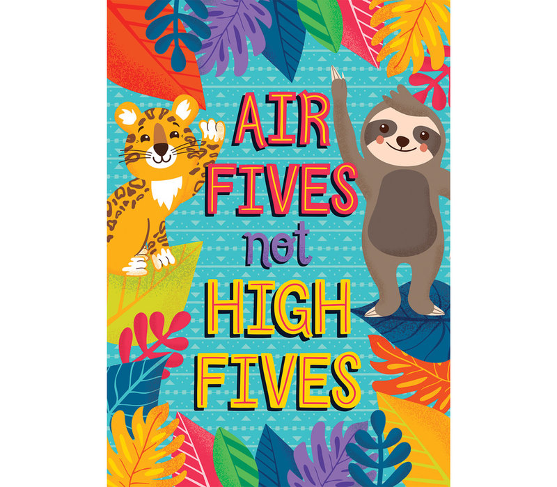 One World - Air Fives Not HIgh Fives poster