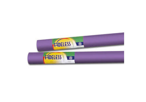 PACON Fadeless Paper 4ft x 12 ft - Violet *