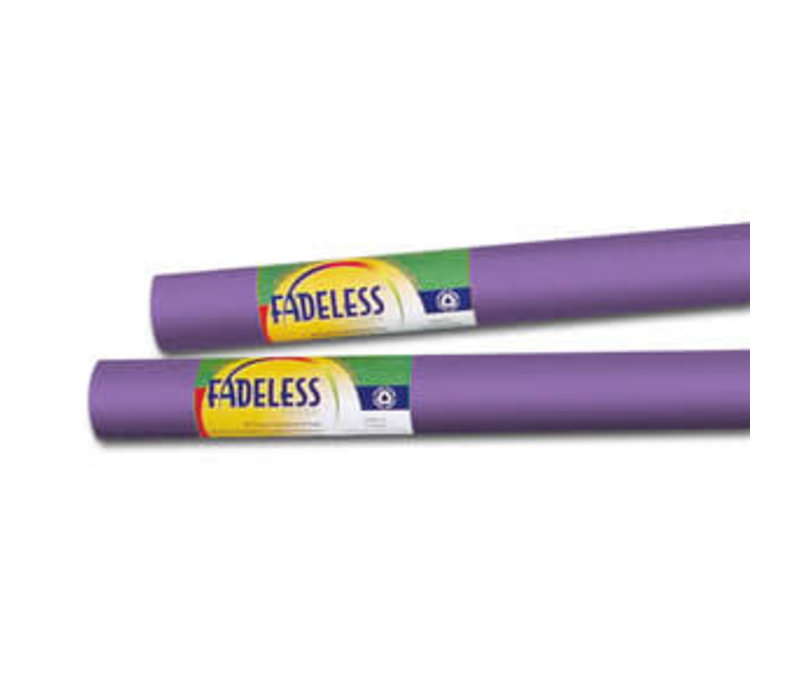 Fadeless Paper 4ft x 50 ft - Violet