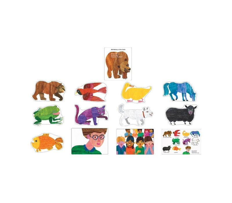 Brown Bear, Brown Bear, What Do You See? Bulletin Board Set