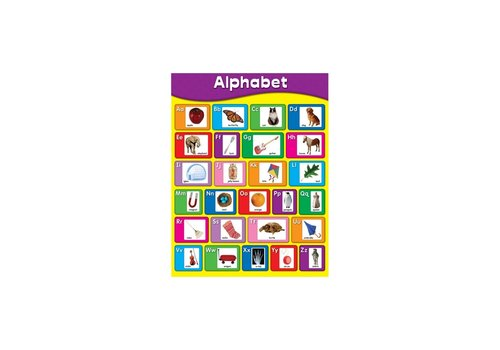 Carson Dellosa Alphabet Chart