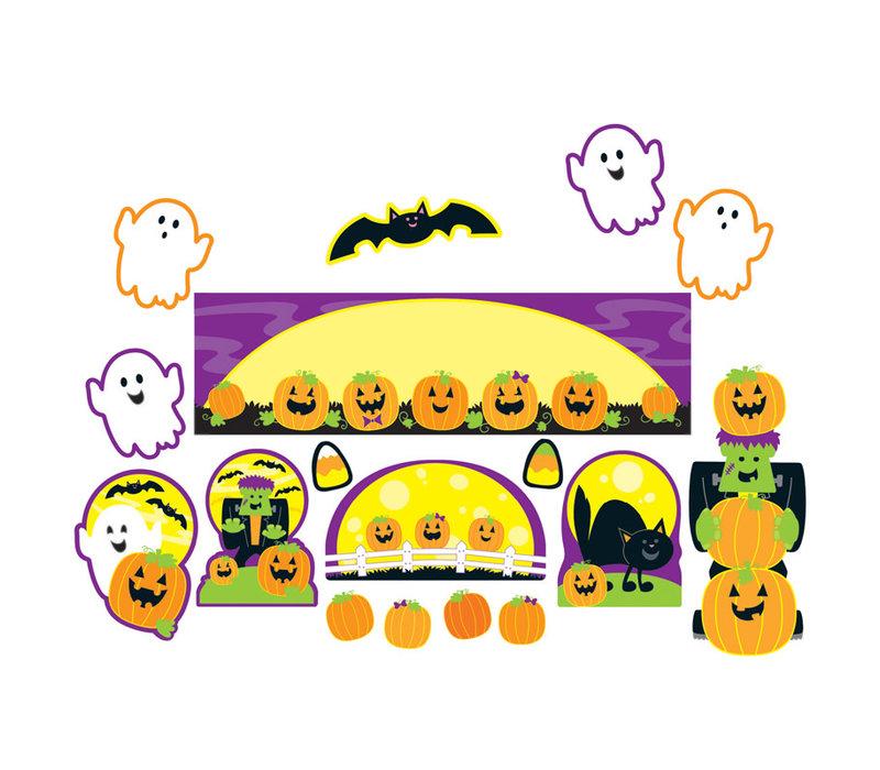 Halloween Mini Bulletin Board Set