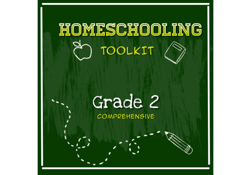 LEARNING TREE Homeschooling Toolkit - Grade 2 Comprehensive