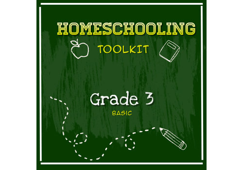 LEARNING TREE Homeschooling Toolkit - Grade 3 Basic