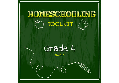 LEARNING TREE Homeschooling Toolkit - Grade 4 Basic