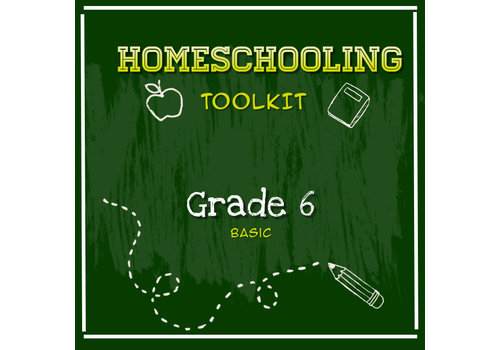 LEARNING TREE Homeschooling Toolkit - Grade 6 Basic