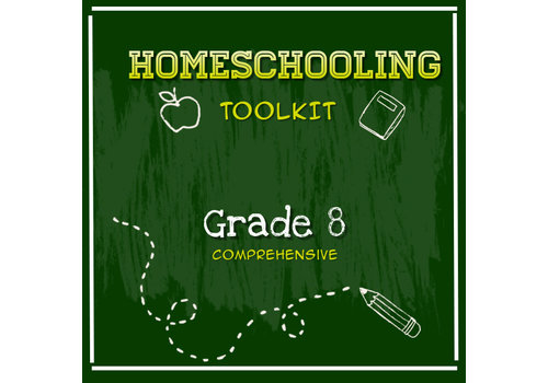 LEARNING TREE Homeschooling Toolkit - Grade 8 Comprehensive