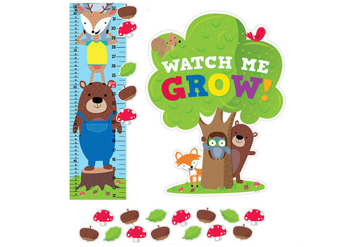 Creative Teaching Press Woodland Friends Growth Chart *