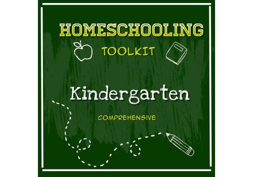 LEARNING TREE Homeschooling Toolkit - Kindergarten  Comprehensive