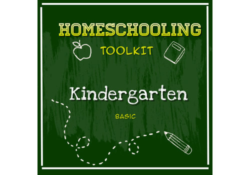 LEARNING TREE Homeschooling Toolkit - Kindergarten Basic