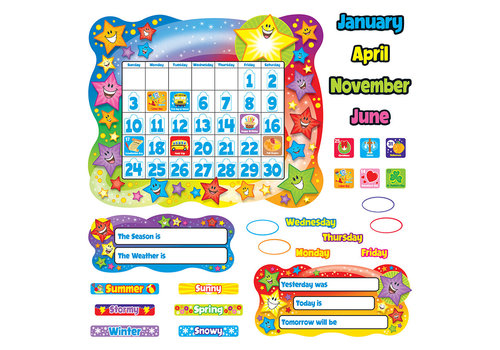 Trend Enterprises Star Calendar