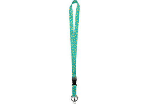 Teacher Created Resources Teal Confetti Lanyard *