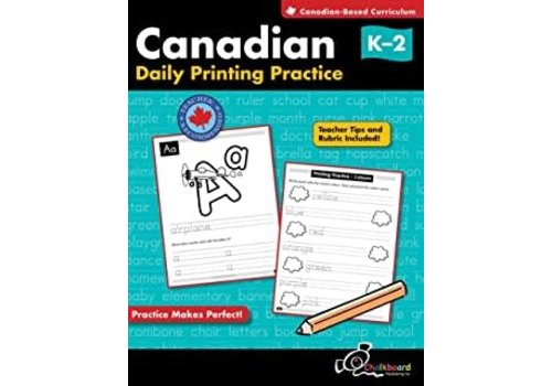 NELSON Canadian Daily Printing Practice K-2 *