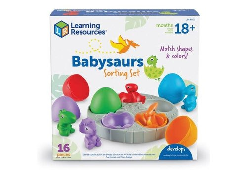 Learning Resources Babysaurs Sorting Set *