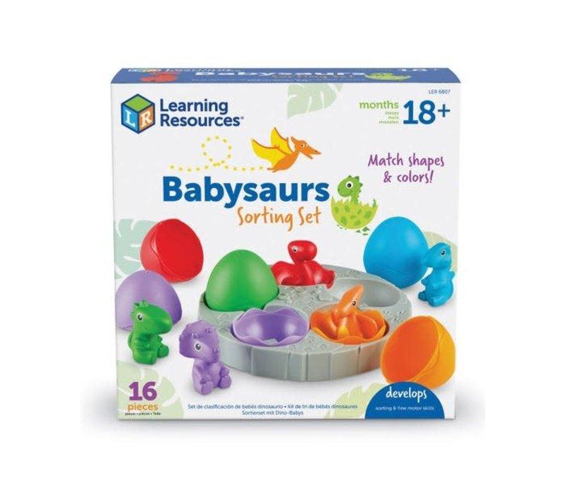 Babysaurs Sorting Set