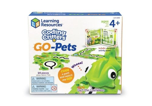 Learning Resources Coding Critters Go-Pets:  Dart the Chameleon *