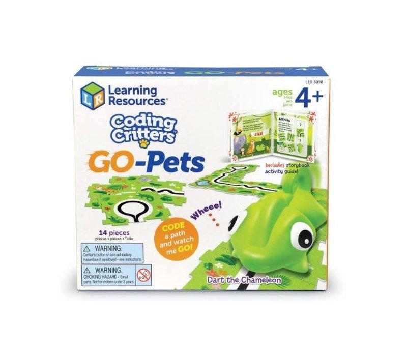 Coding Critters Go-Pets:  Dart the Chameleon