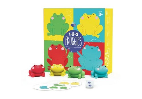 Educational Insights 1-2-3 Froggies *