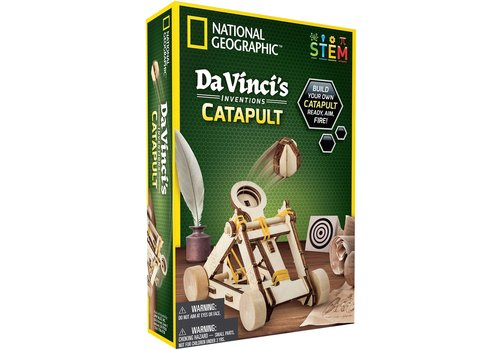 Incredible Novelties National Geographics DaVinci's Catapult *