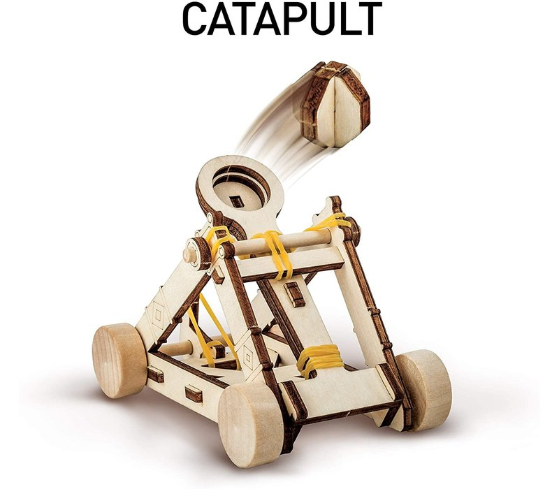 National Geographics DaVinci's Catapult *