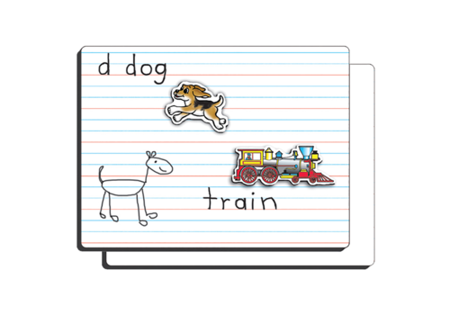 Playmonster Lined magnetic Dry Erase Board *