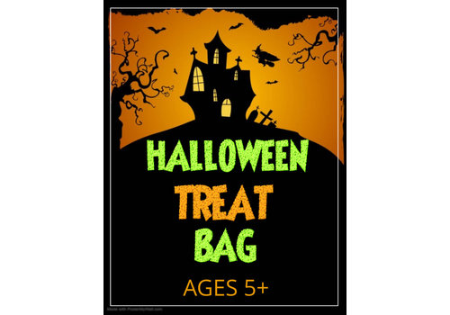 Hallowe'en Treat Bag - 5 years+ (includes 8 items)