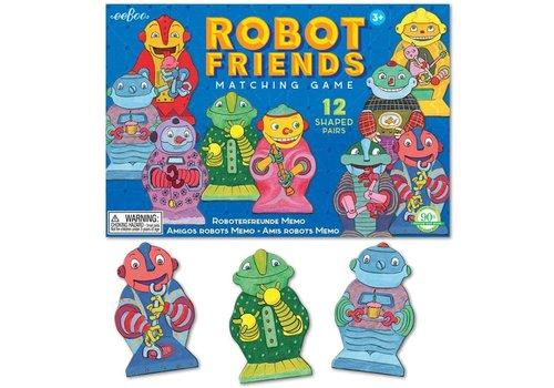 Eeboo Robot Friends Matching Games