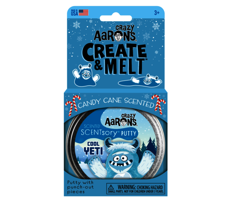 Crazy Aaron's SCENTsory Putty - Cool Yeti