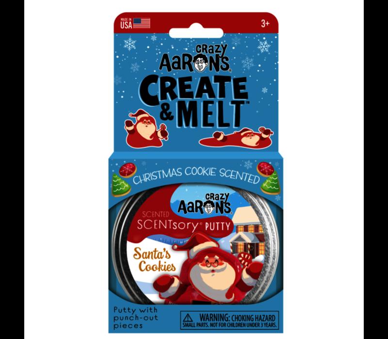 Crazy Aaron's SCENTsory Putty - Santa's Cookies