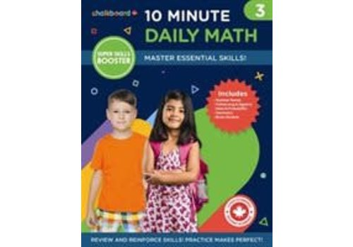 NELSON Canadian 10 Minute Daily Math Grade 3 *