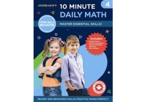 NELSON Canadian 10 Minute Daily Math Grade 4 *