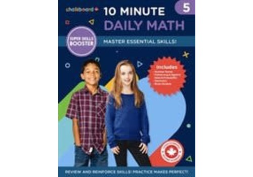 NELSON Canadian 10 Minute Daily Math Grade 5 *