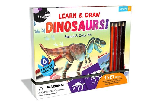 Spicebox Learn & Draw Dinosaurs!
