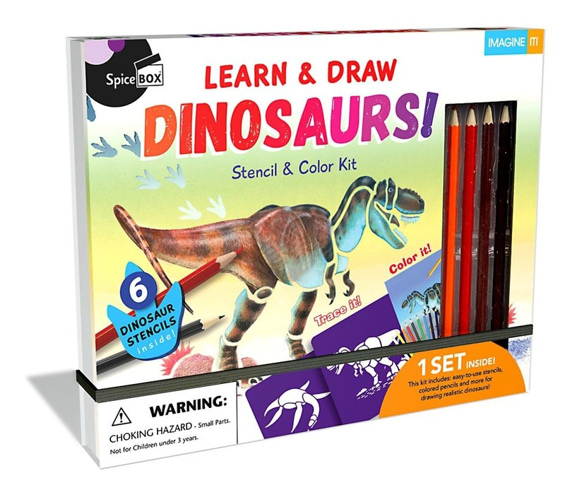 Learn & Draw Dinosaurs! *