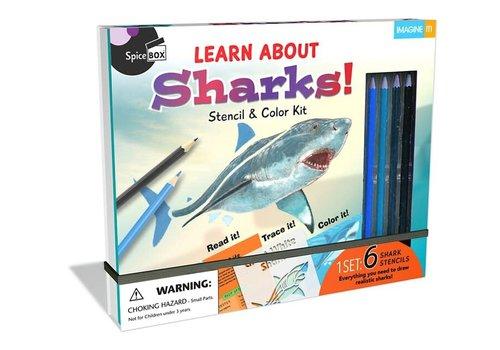 Spicebox Learn & Draw Sharks! *