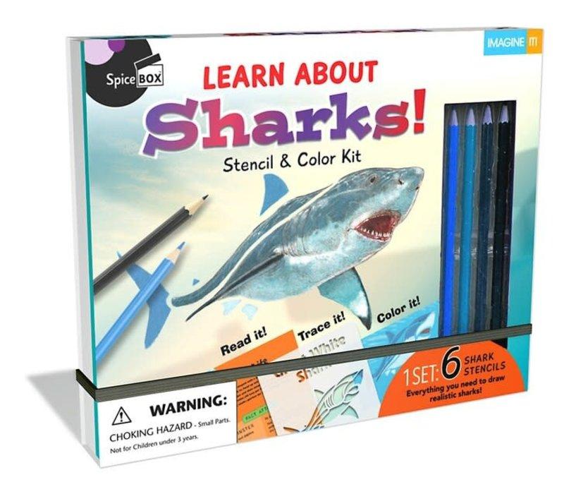 Learn & Draw Sharks! *
