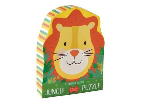 Floss & Rock Jungle  12 piece puzzle (Floss & Rock) *