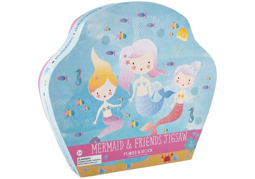 Floss & Rock Mermaid 40 piece  Puzzle (Floss & Rock) *