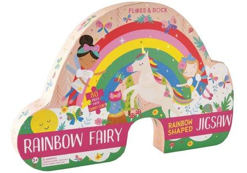 Floss & Rock Rainbow Fairy 80 piece  Puzzle (Floss & Rock)