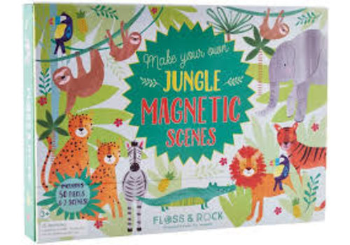 Floss & Rock Magnetic Play Scene - Jungle  (Floss & Rock) *