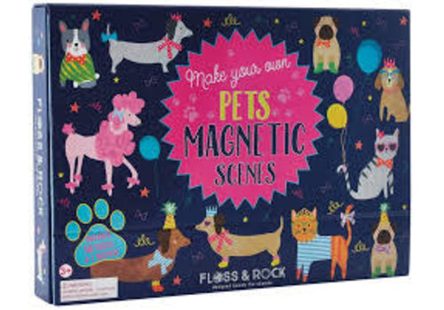 Floss & Rock Magnetic Play Scene - Pets  (Floss & Rock)