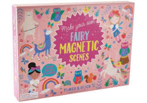 Floss & Rock Magnetic Play Scene - Rainbow Fairy  (Floss & Rock)