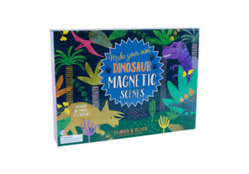 Floss & Rock Magnetic Play Scene - Dinosaurs (Floss & Rock)